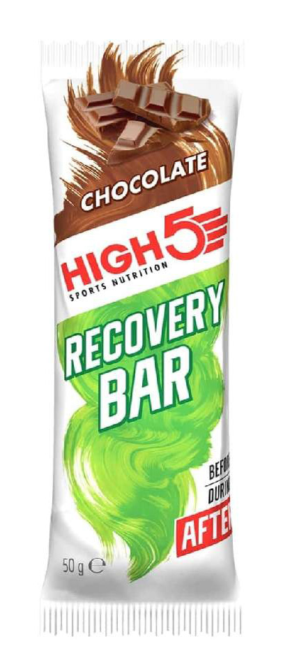 High5 Chocolate Recovery Proteinbar   Proteinbar og -pulver