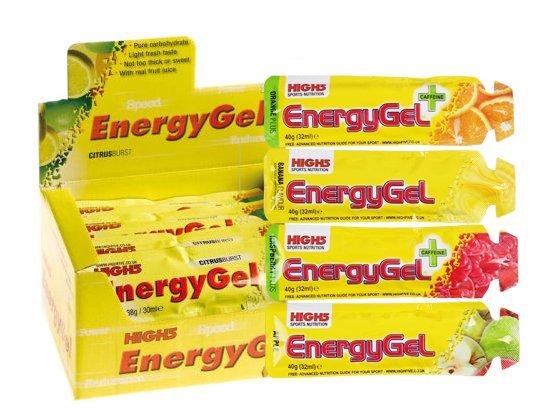 High5 EnergyGel Mix Plus 20 stk. | Energy gels