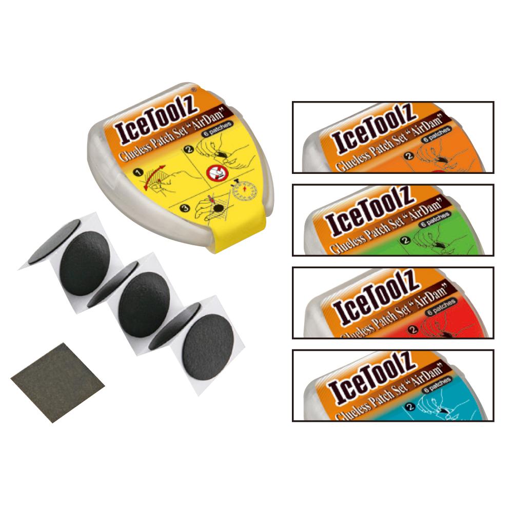 Ice Toolz Lappeboks Med Selvklæbende Lapper | Repair Kit