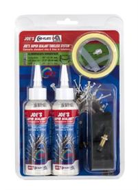 Joe's No Flats Tubeless Kit 19-25 MM All Mountain Super Sealant | Lappegrej og dækjern