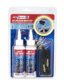 Joe's No Flats Tubeless Kit 17-19 MM XC Super Sealant | Lappegrej og dækjern