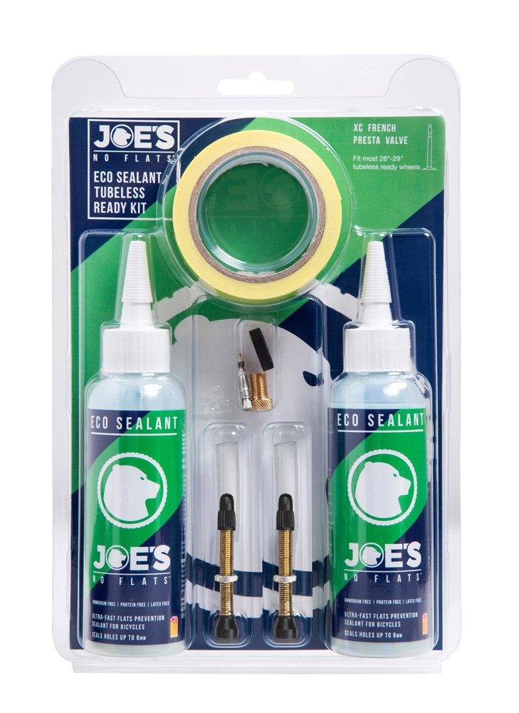 Joe's No Flats Tubeless Kit 21 MM XC Eco Sealant 32 MM ventil   Repair Kit