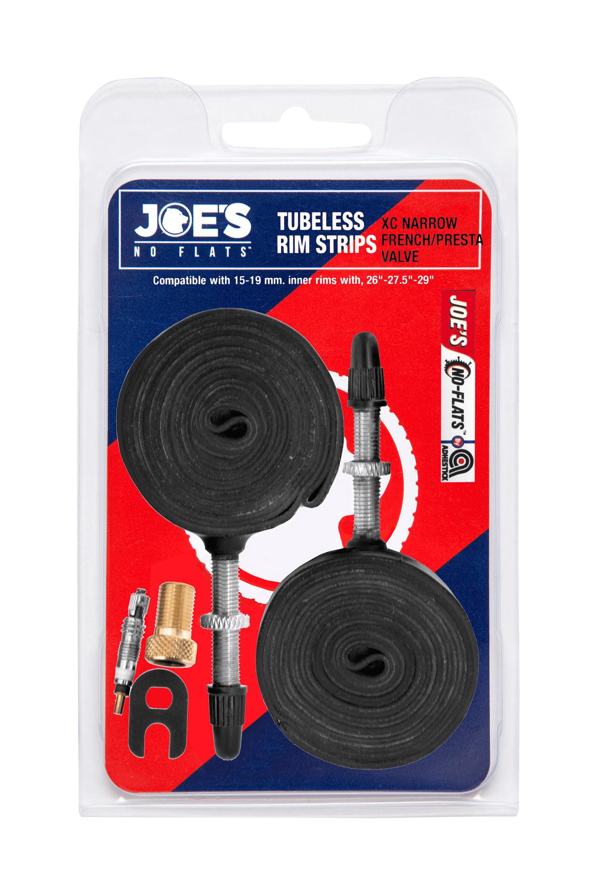 Joe's No Flats Tubeless Rim Strips XC Narrow   Rims