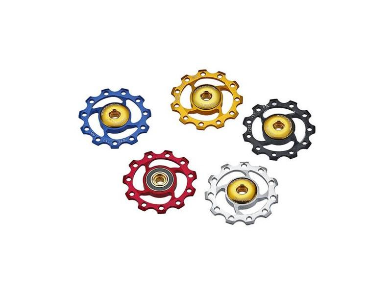 KCNC 11 tands pulleyhjul i flere farver | Pulleyhjul