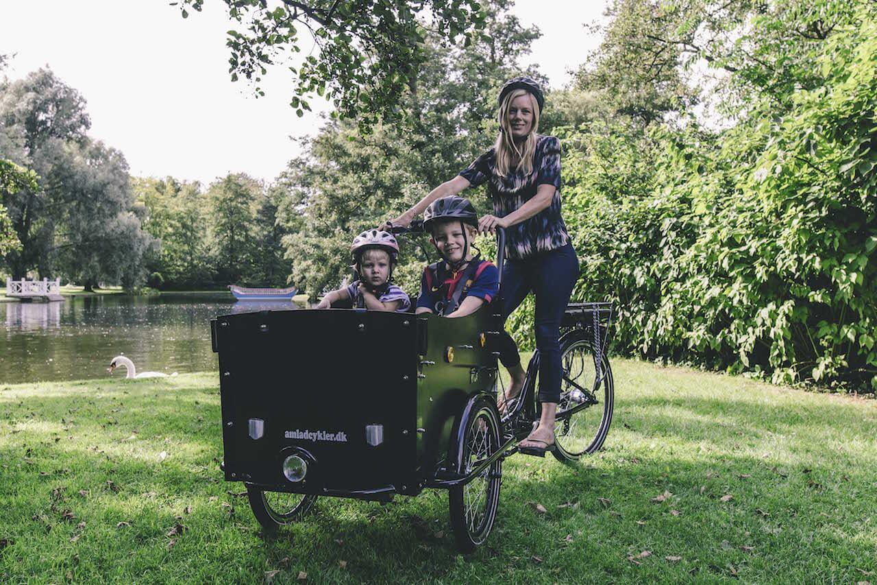 Klassisk El Ladcykel Letvægt Inkl. tilbehør og Fælgbremser | City-cykler