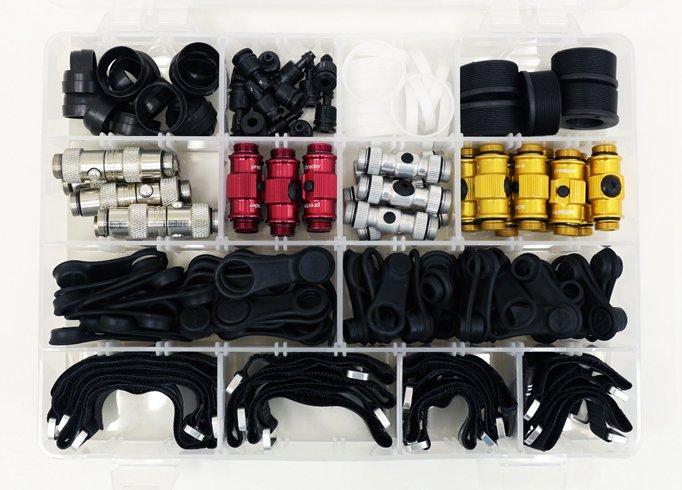Lezyne kasse med reservedele til pumper | Fodpumper