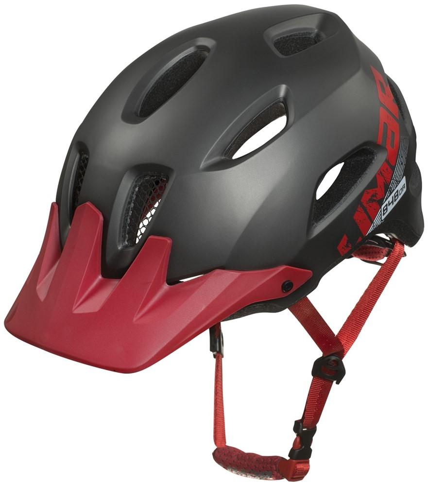 Limar 848DR MTB Cykelhjelm Grå/Rød | Helmets