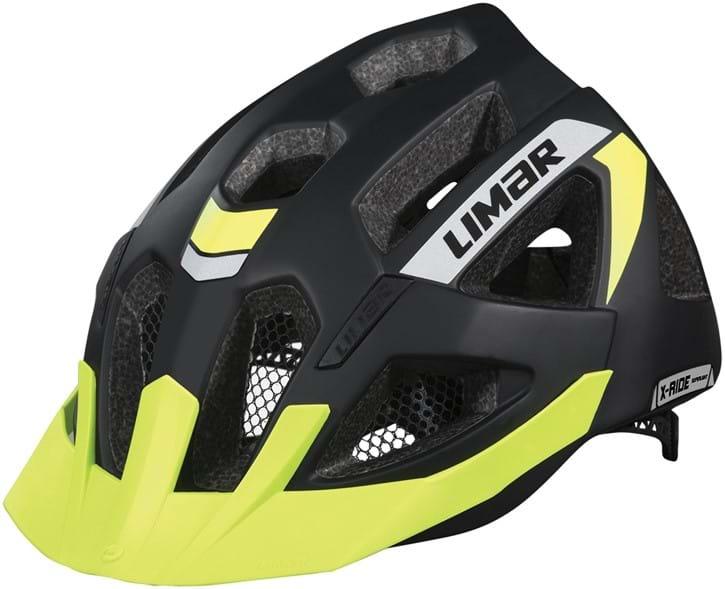 Limar X-Ride Cykelhjelm sort/gul | Helmets