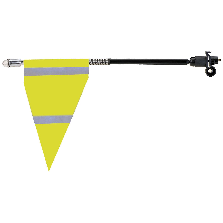 M-Wave Sideflag Fluo med Refleks Lang | Reflekser