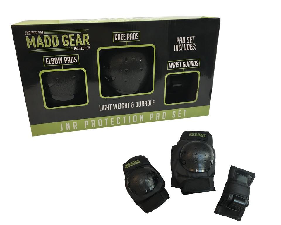 Madd Gear Beskyttelsessæt Knæ, Albuer og Håndled Junior | Beskyttelse
