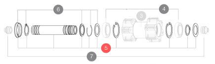 Mavic Akselkit FRT 15mm | Nav