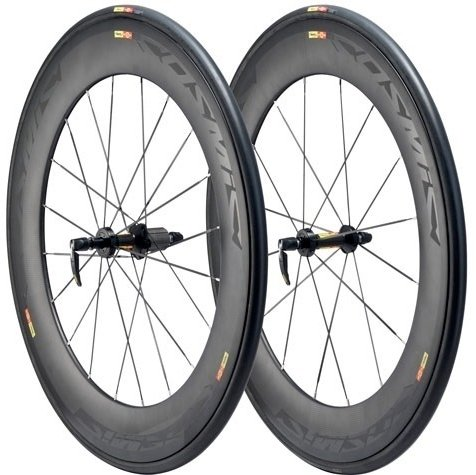 Mavic Cosmic Carbone 80 Tubular M11 hjulsæt   Hjulsæt