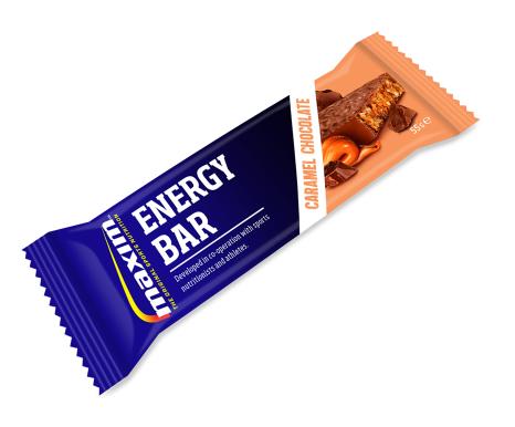 Maxim Energibar Chokolade/Karamel 55g