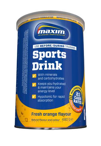 Maxim energidrik Appelsin   Energy drinks
