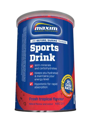 Maxim energidrik tropical fruit   Energy drinks