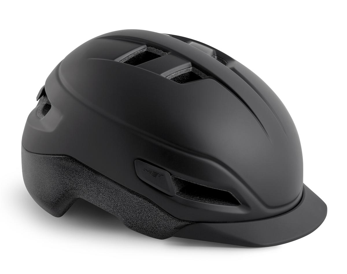 Met Grancorso S-Pedelec Cykelhjelm sort/refleks | Hjelme