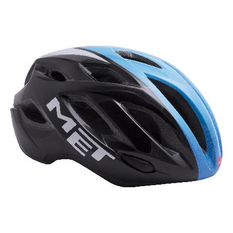 Met IDOLO hjelm sort/blå/hvid | Helmets