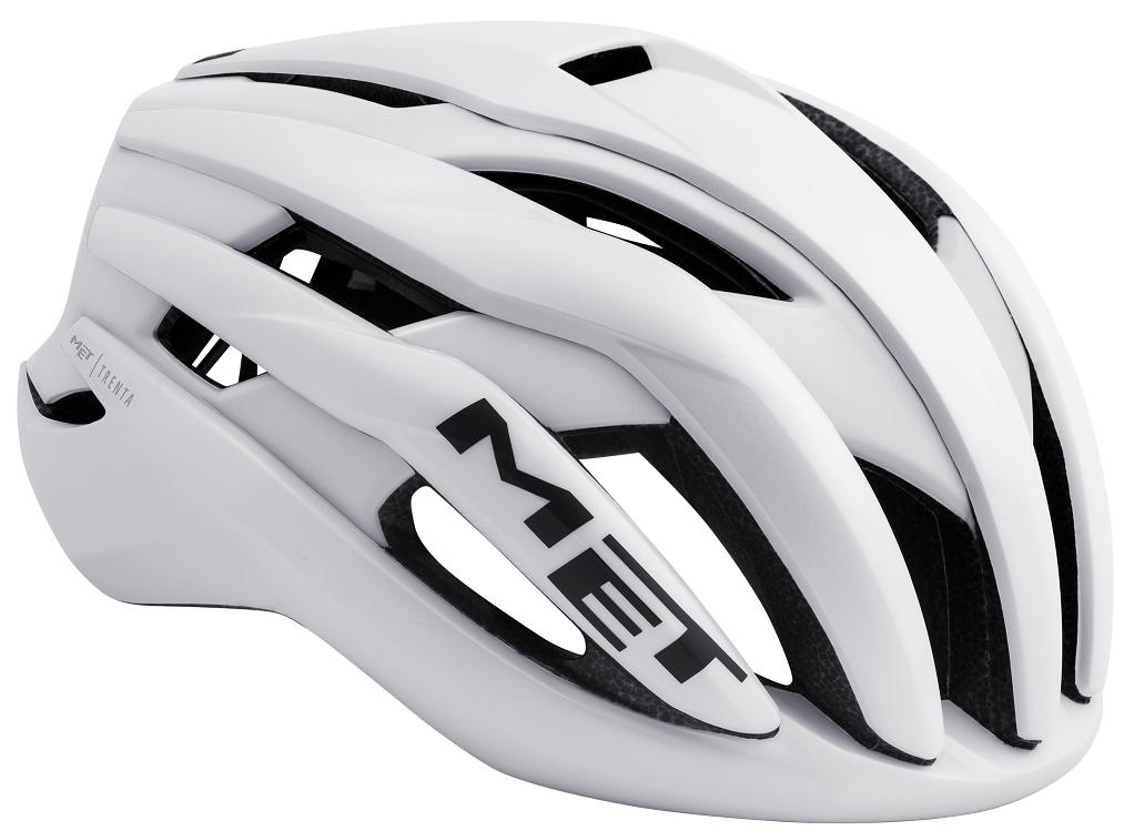 Met Trenta aerodynamisk hjelm, hvid   Hjelme