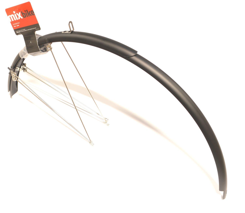 Mixbike skærmsæt til citybike 45mm matsort - 189,00 | Mudguards Set