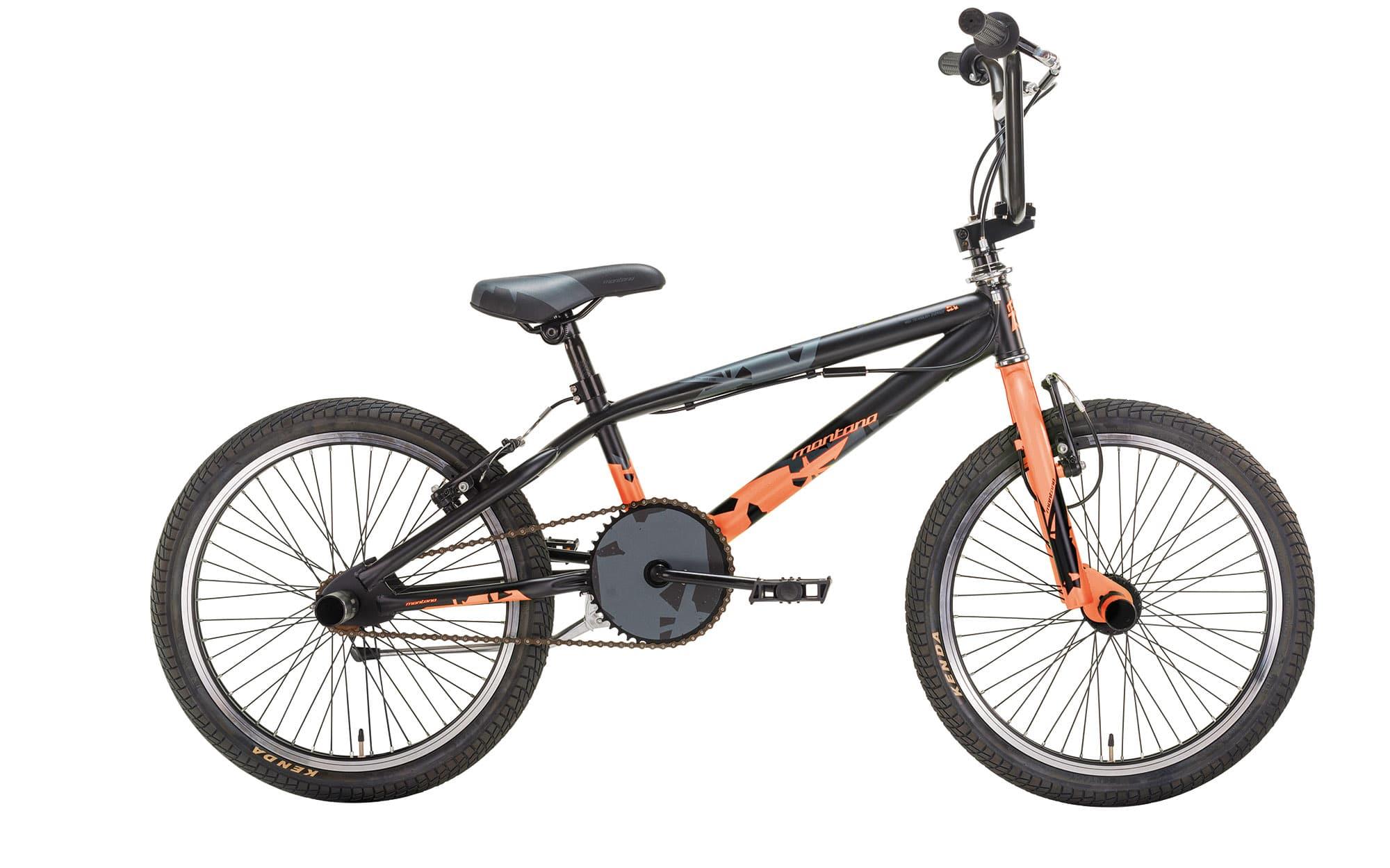 Montana Bmx wax 20 Sort/Orange | BMX-cykler