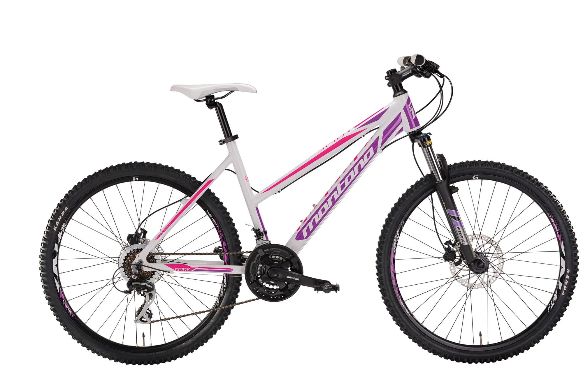 Montana Spidy 26 lady - Hvid/lilla | Mountainbikes