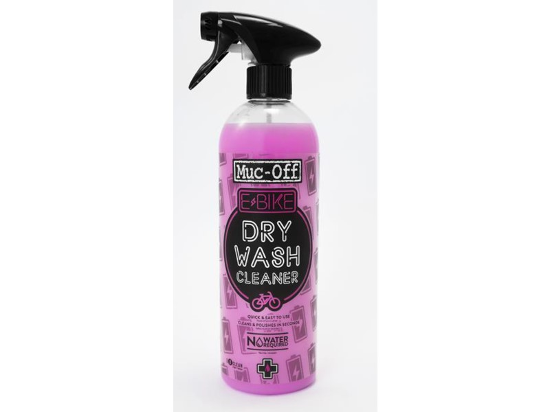 Muc-Off E-bike Dry Wash (Tør rens) 750 ml. | Personlig pleje