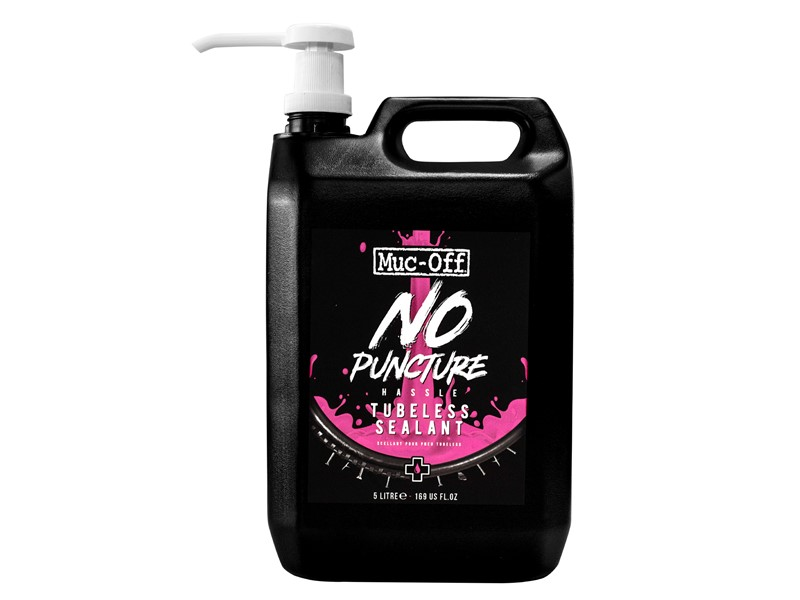 Muc-Off No Puncture Tubeless Sealant 5 liter | Lappegrej og dækjern