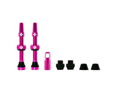 Muc-Off ventil sæt Tubeless 2 stk. 44 mm Pink - 249,00   Valve
