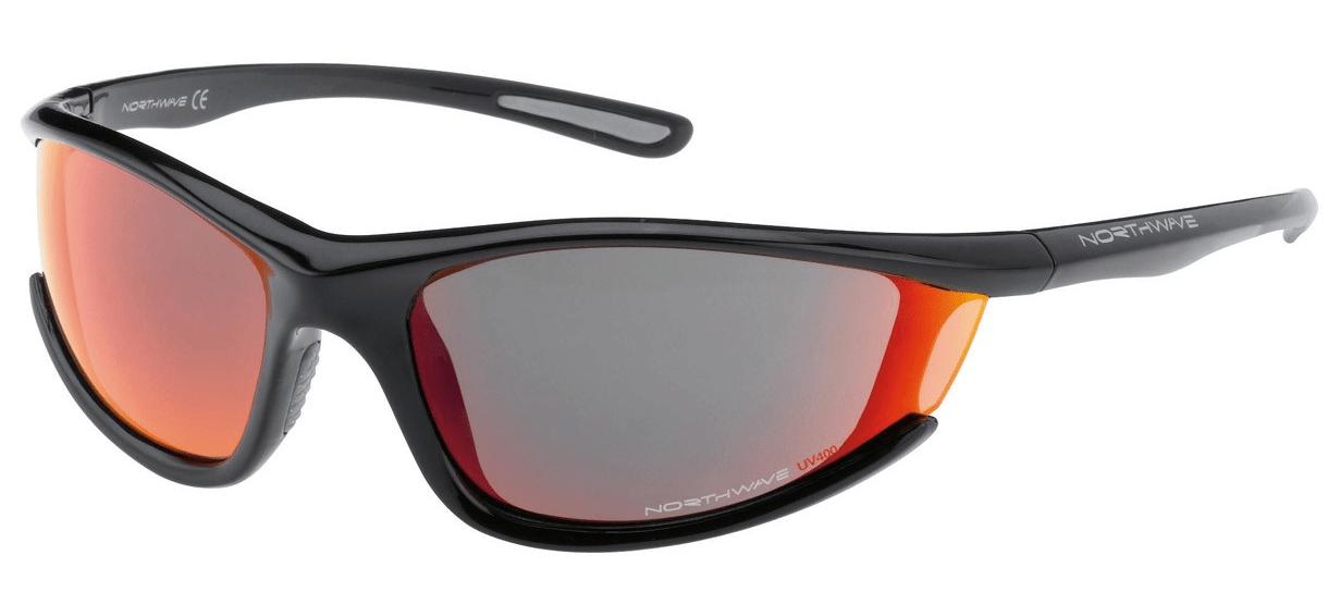 Northwave Predator Shiny solbriller sort | Glasses
