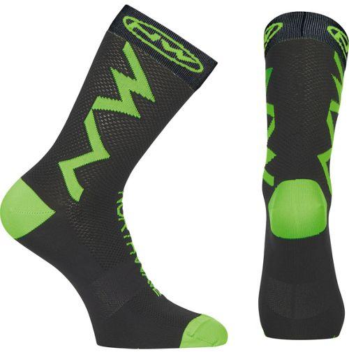 Northwave Extreme Tech strømper sort/grøn | Socks