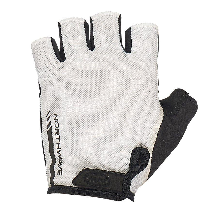 Northwave Jet Short handsker hvid/sort