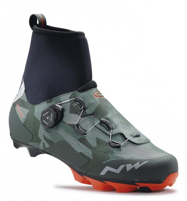 Northwave Raptor GTX støvler Camo/orange