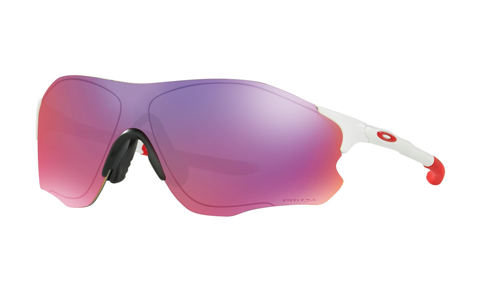 Oakley EVZero Path Prizm Road hvid/rød | Briller