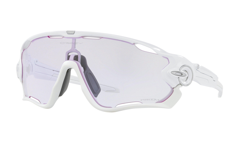 Oakley Jawbreaker Prizm Low Light Hvid | Briller