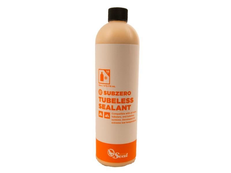 Orange Seal Sub Zero Tubeless væske 473 ml | Lappegrej og dækjern