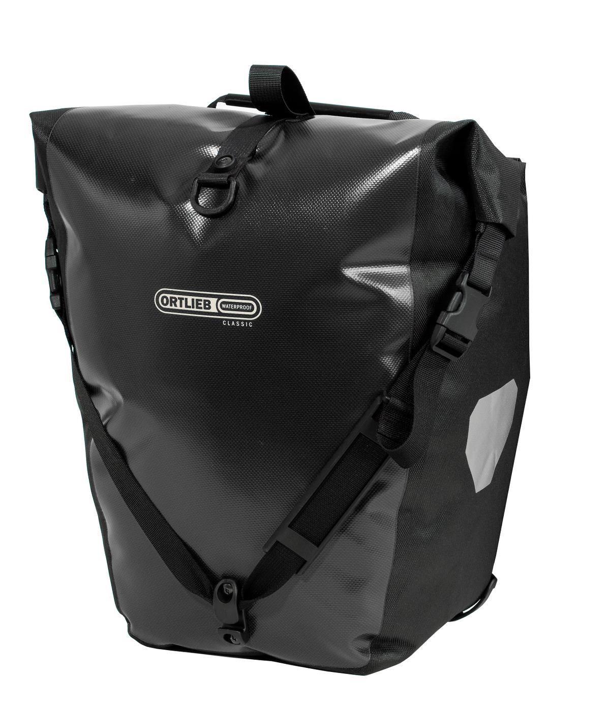 Ortlieb Back Roller Sort 2 stk | Rack bags