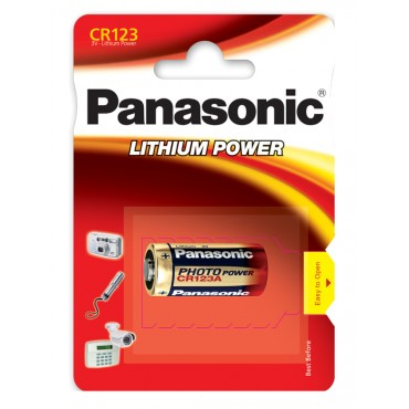 Panasonic CR-123A Batteri | Computer Battery and Charger