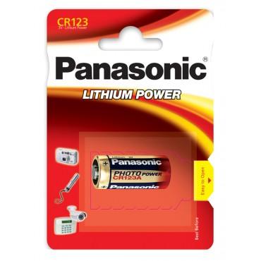 Panasonic CR-123A Batteri | Batterier og opladere