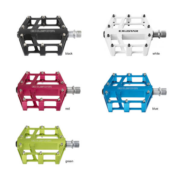Exustar Flats pedaler - Flere farver!