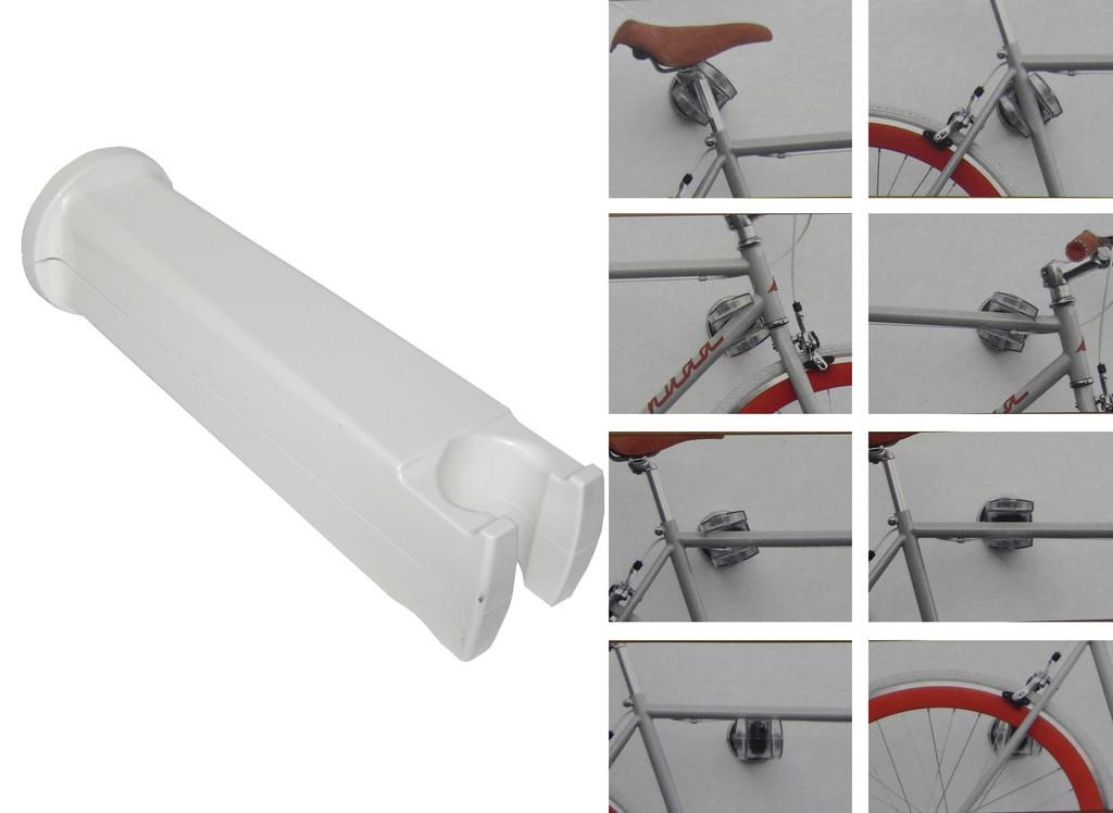 Peruzzo Cool Bike Rack drejeligt cykelophæng hvid | bike_storage_hanger_component