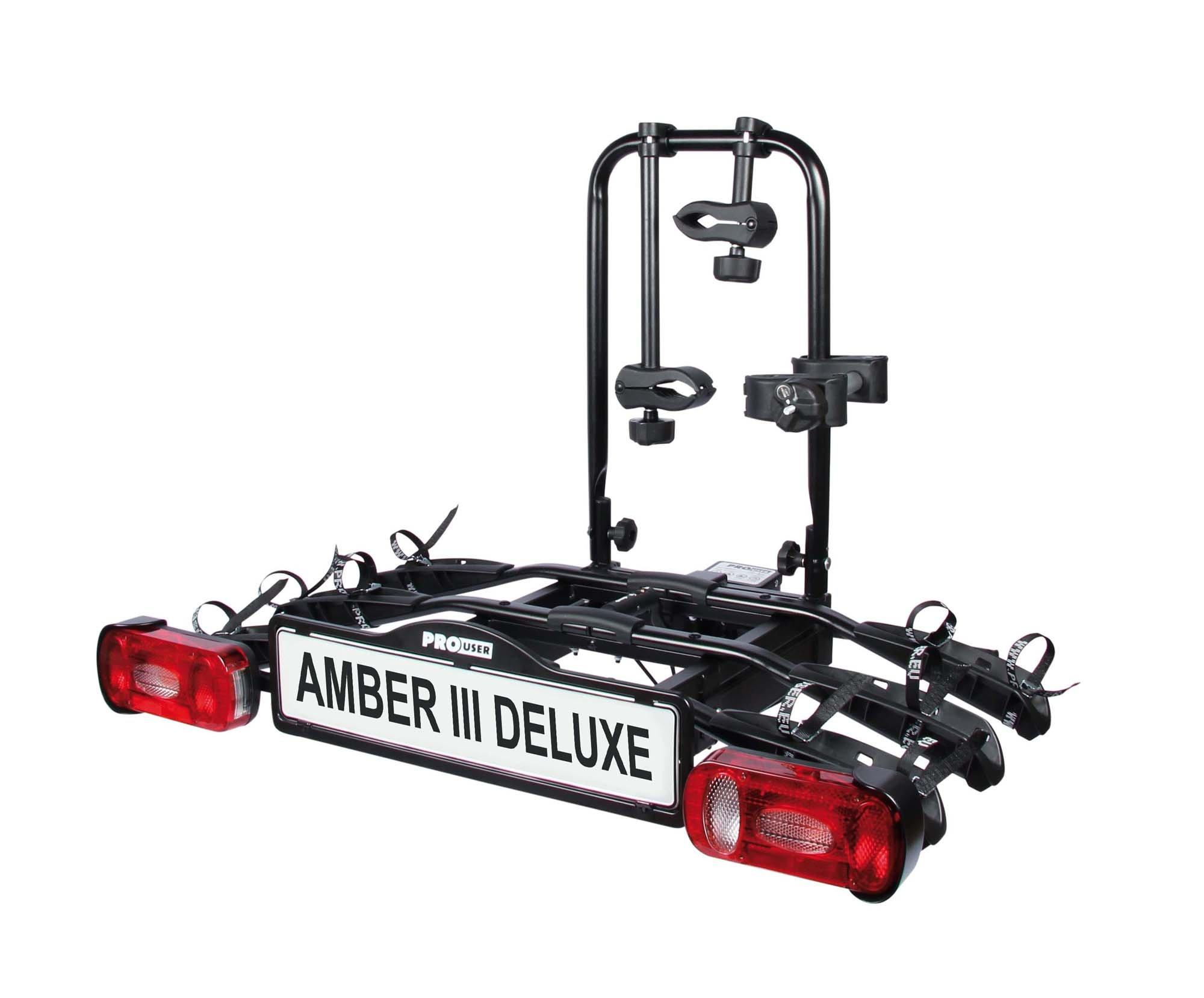 ProUser Amber Deluxe III Cykelholder til 3 cykler - 2.199,00   Car racks