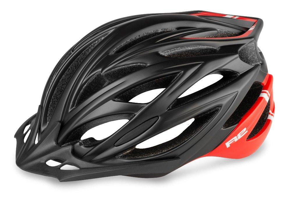 R2 Arrow Cykelhjelm rød/sort | Helmets