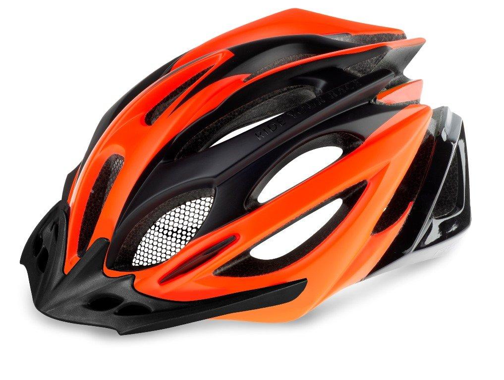 R2 Pro-Tec Cykelhjelm Sort/orange