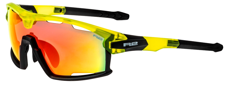 R2 Rocket cykelbriller sort/gul | Glasses