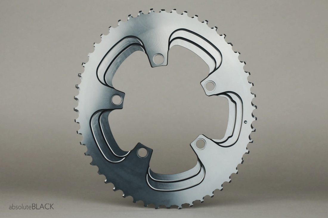 Absolute Black Oval Winter Klinge 110BCD 5huls | chainrings_component