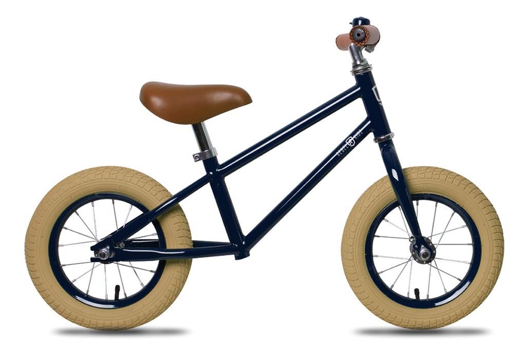 Rebel Kidz Air Classic løbecykel Grå-Blå | Learner Bikes