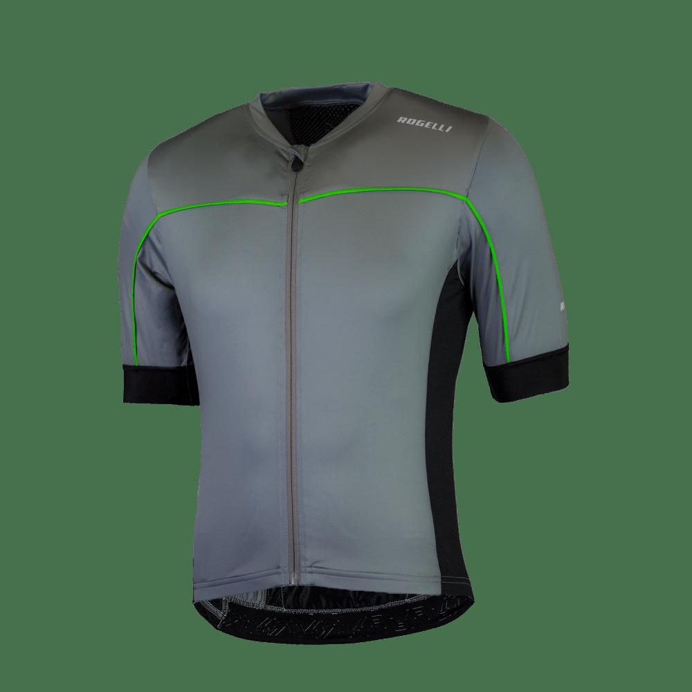 Rogelli Passo trøje med korte ærmer grå/grøn