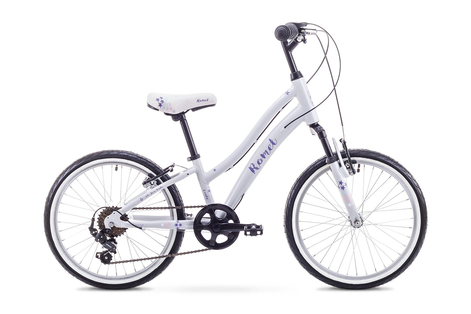 Romet Cindy 20 Pigecykel Grå | City-cykler