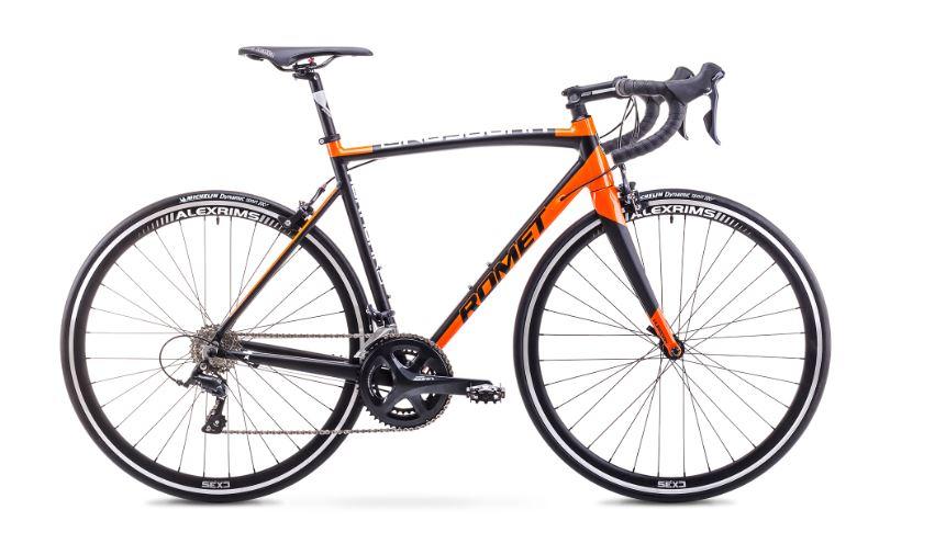 Romet Huragan 3 Sora Sort/Orange | Racercykler