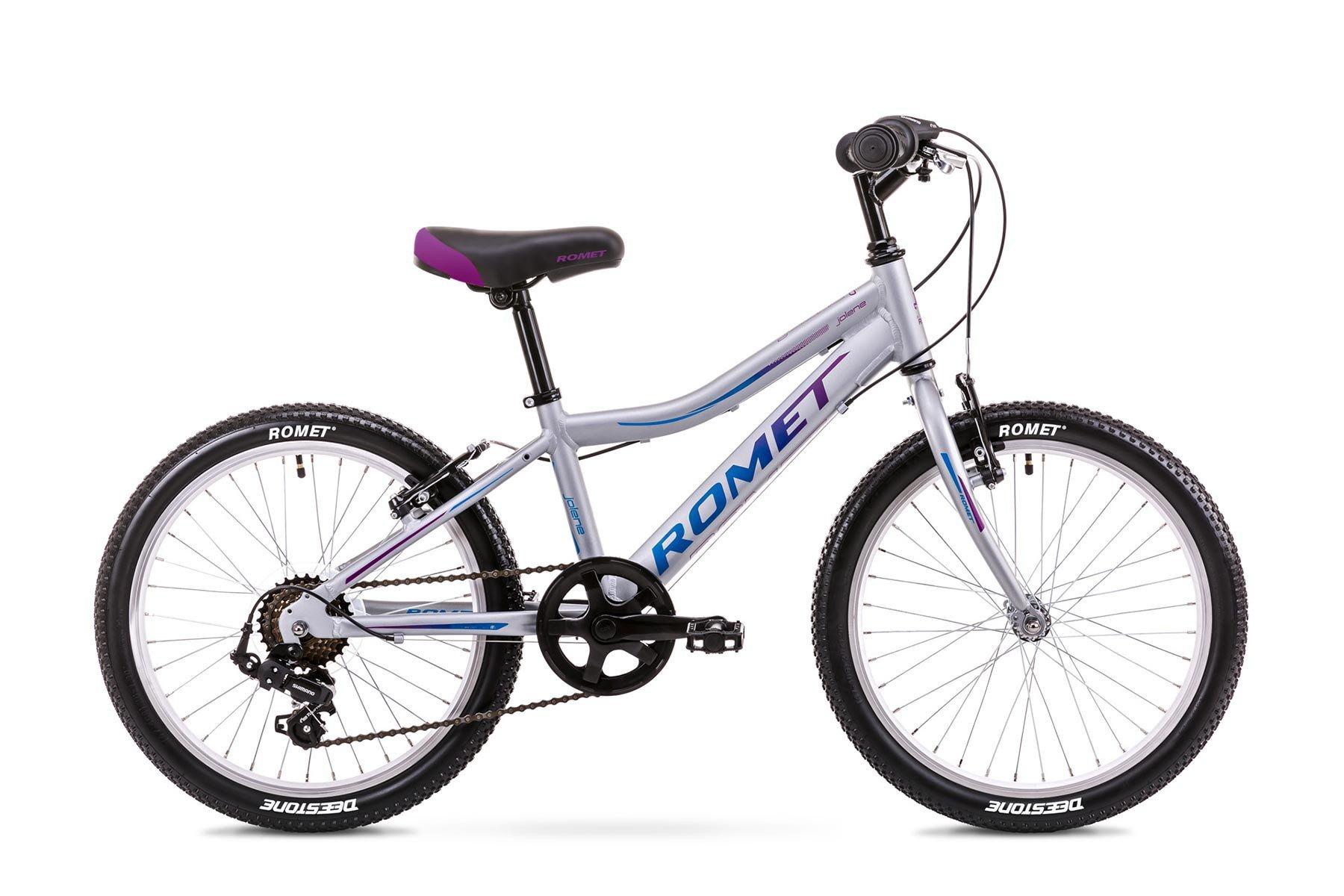 Romet Jolene 1 20 6speed Tourney Sølv | City-cykler